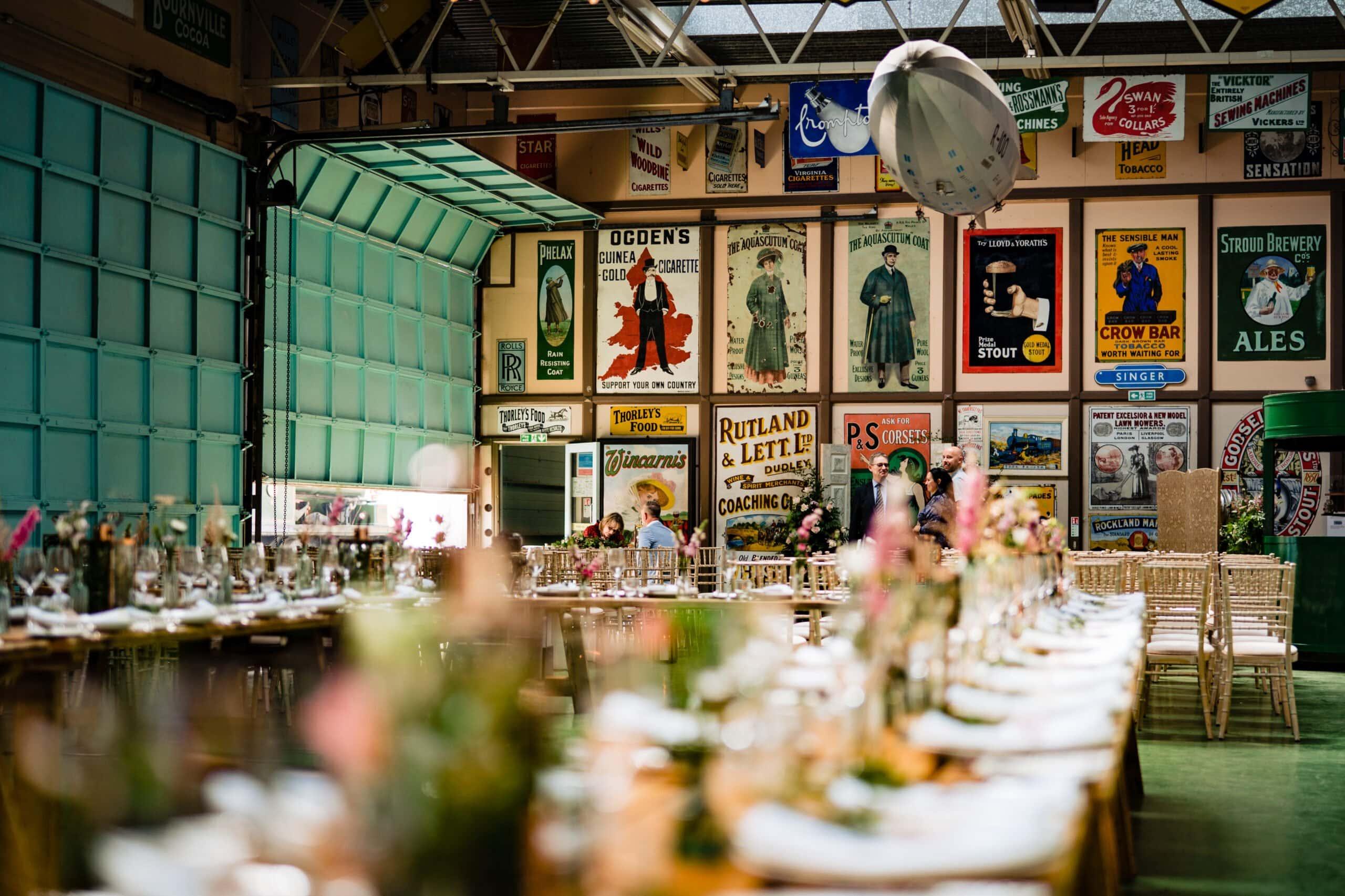 Norfolk wedding planner barn drift
