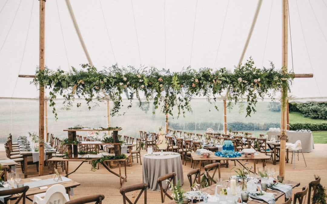 Planning a Marquee Wedding? How to choose your wedding marquee!