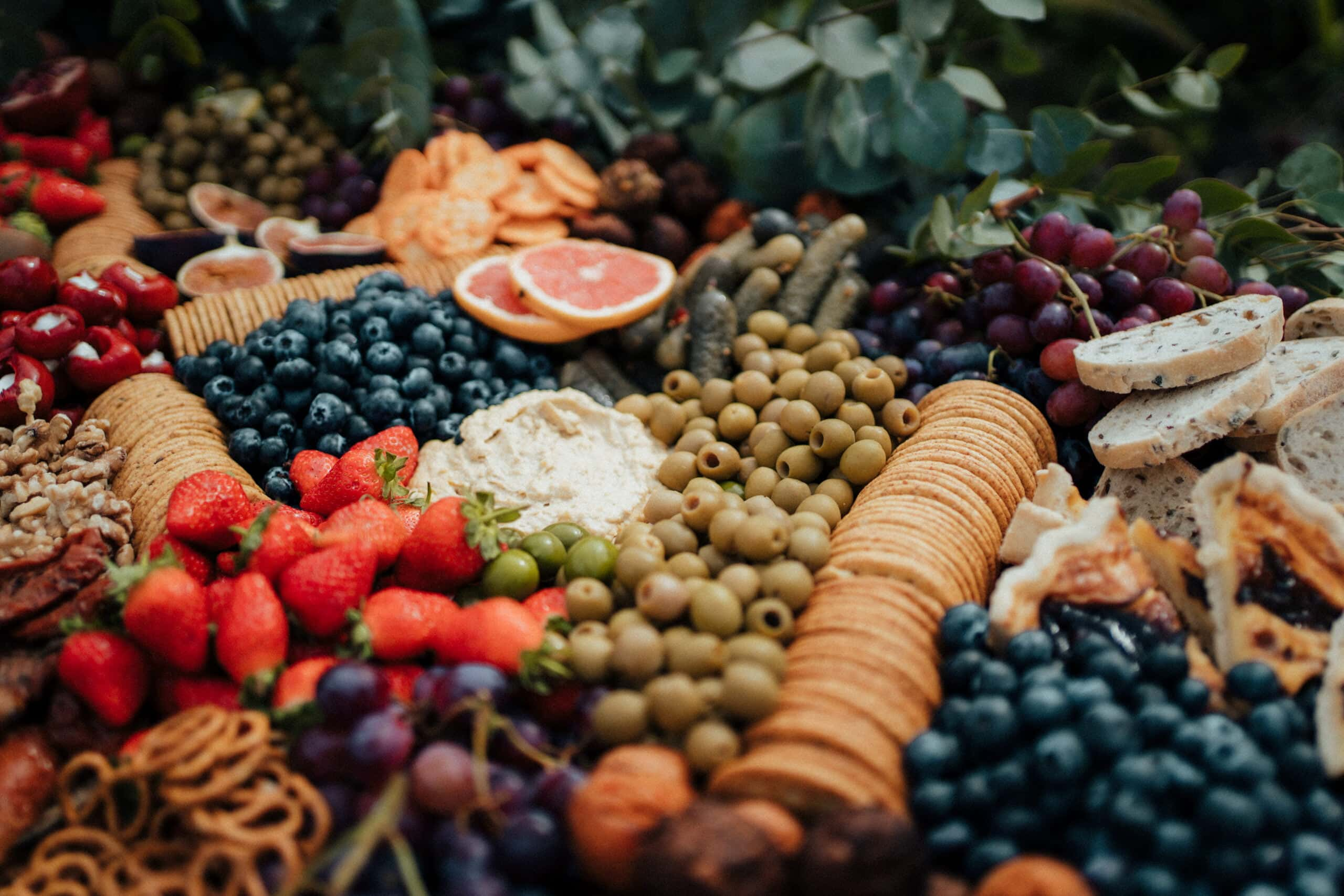 grazing feast for wedding in Norfolk