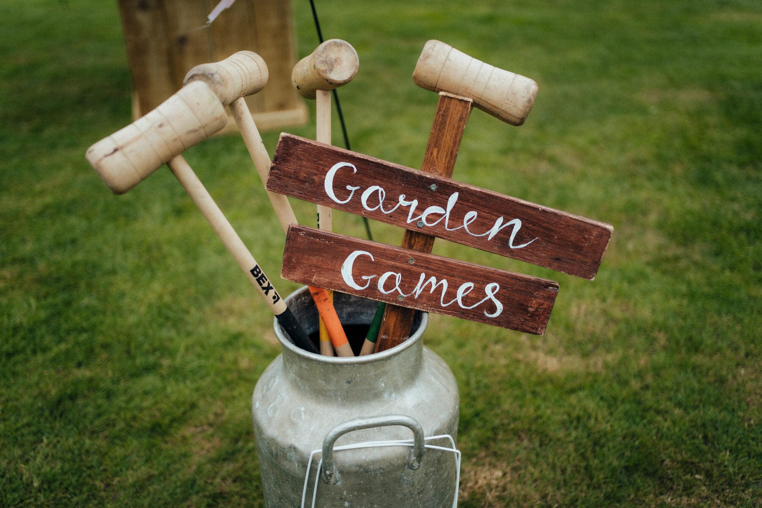 garden games hire norfolk