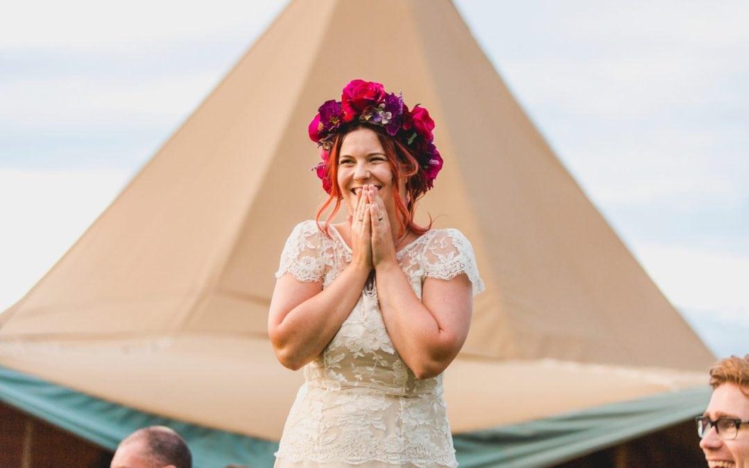 Norfolk Tipi Festival Wedding – Real Wedding