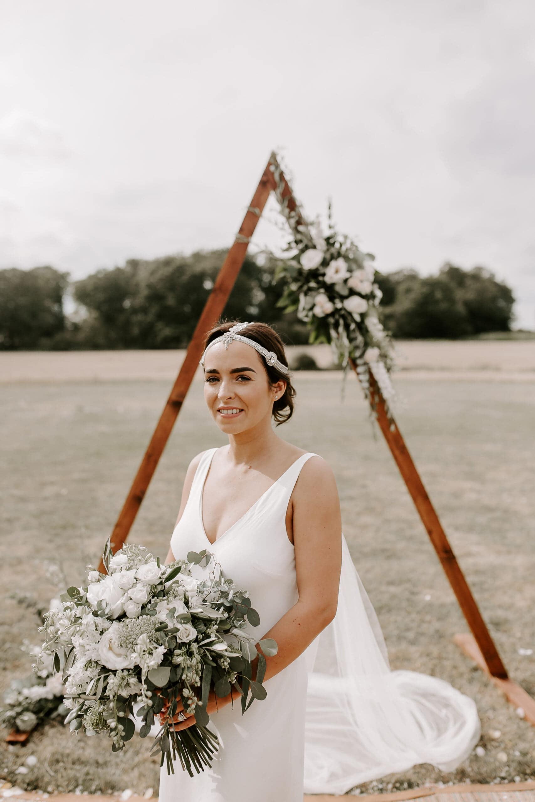 Glevering Estate Wedding Tipi Wedding Suffolk
