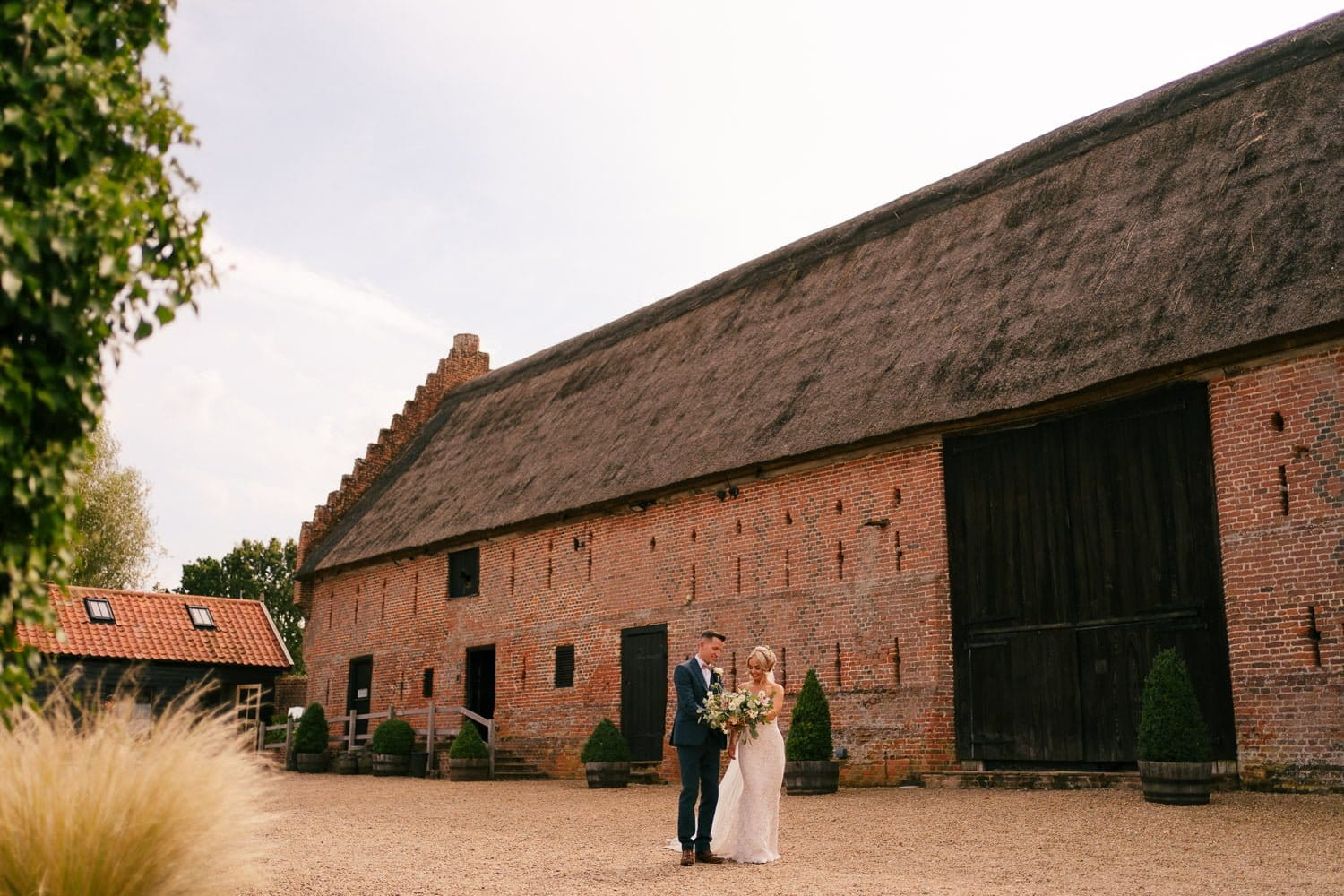 Hales Hall Wedding Norfolk