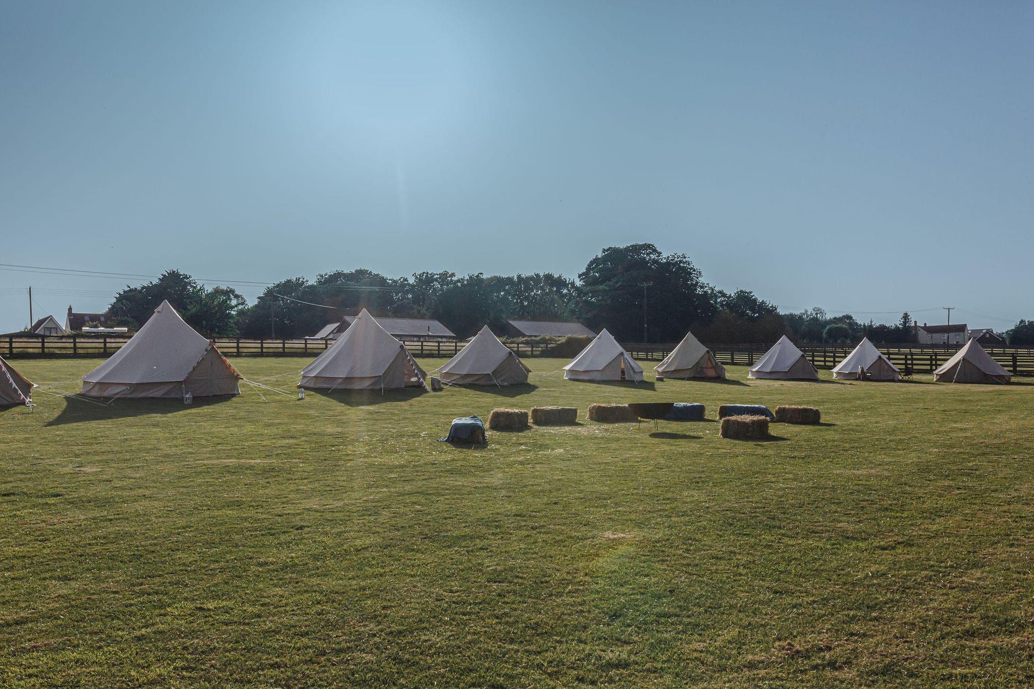 Suffolk Wedding Planner Yurt Wedding