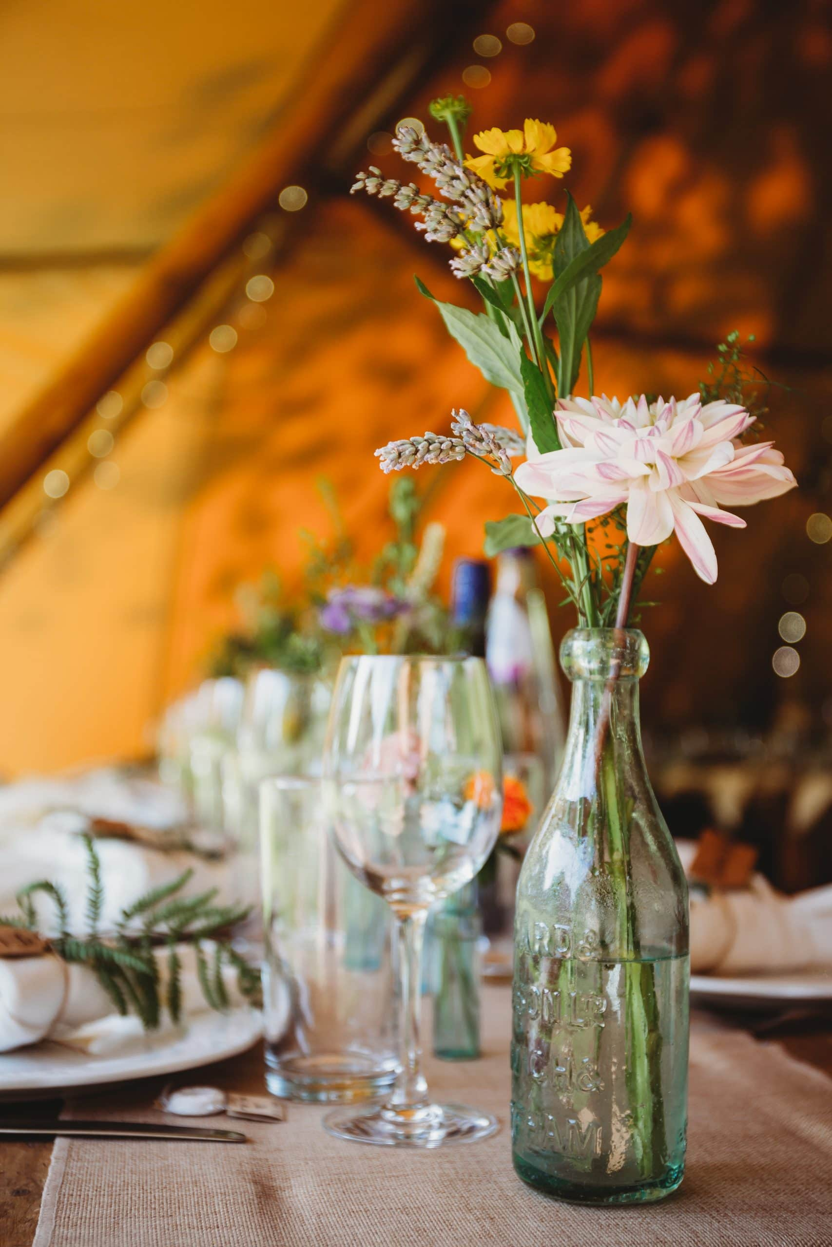 Norfolk tipi wedding planner Hush Venues
