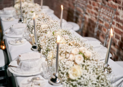 Winter wedding hales