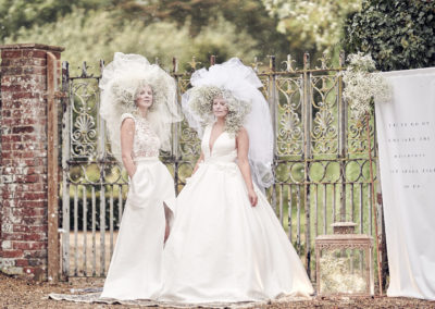 Hales Hall Wedding Styled Shoot