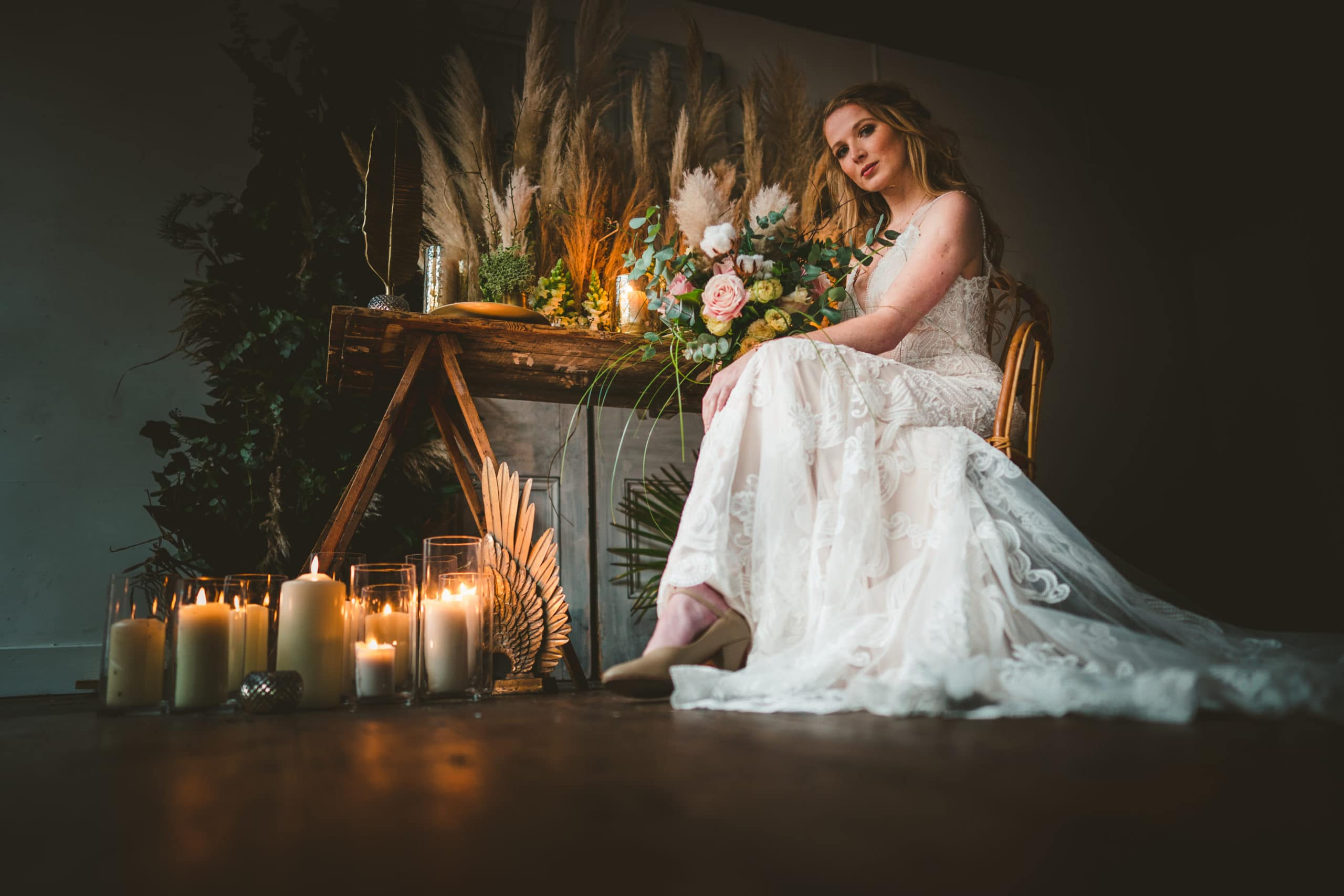 Norfolk wedding stylist
